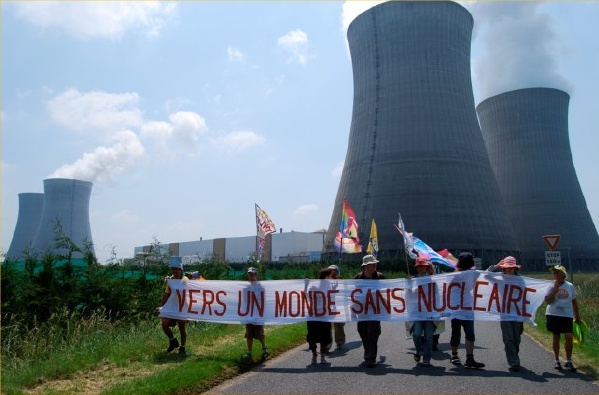 manifestazione centrale dampierre francia incidente
